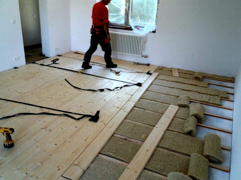 podlaha z palubovky