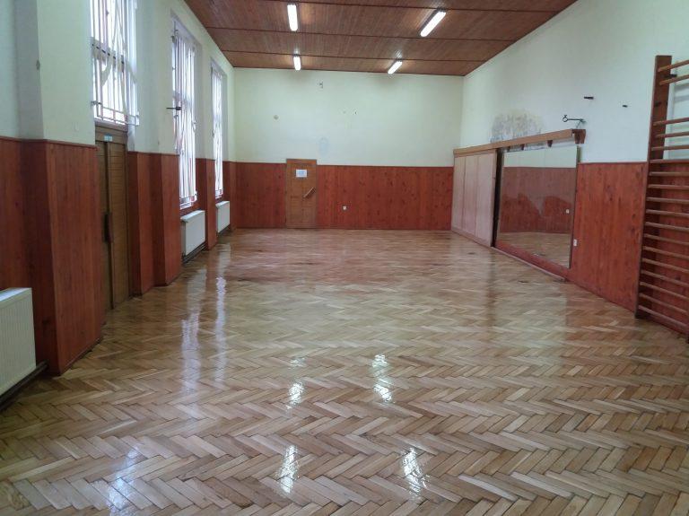 Baletné štúdio obnova podlahy